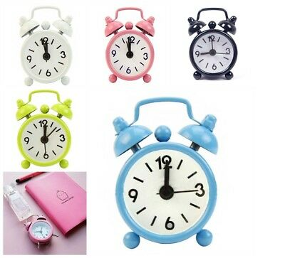 New 2017 Home Outdoor Portable Cute Mini Cartoon Dial Number Round Desk Alarm Cl