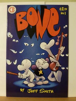 Bone #1 1991 1st Printing Red Logo Jeff Smith Cartoon Books