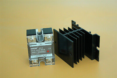 SSR-25 DD Solid State Relay DC to DC Load 5-220V DC DD220D25 25A & Heat Sink