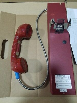 Notifier AFAWS-TELA Firefighters Telephone Handset Assembly w/Armored Cable
