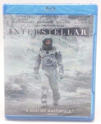 Interstellar - Blu-Ray NEW FACTORY SEALED Free U.S. Shipping