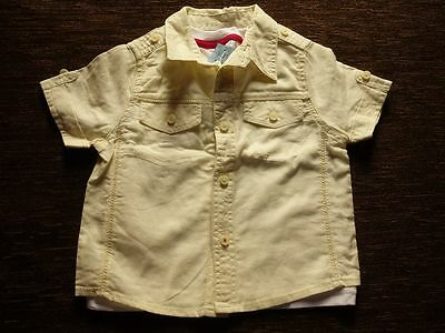 Boys' Shirt T-Shirt Set Outfit 12-18, 18-24 Months Tesco F&F