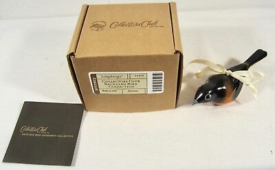 Longaberger Collectors Club Backyard Bird Collection Ornament ~ ORIOLE