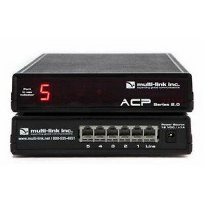 NEW Multi-Link Line Sharing 5 Port Call Router 500