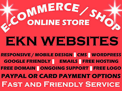Ecommerce Website | Your Own Online Store | Online Shop Web Design - Domain