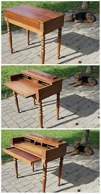 THIS WEEKEND 50% OFF Beautiful antique writing desk excellent cond. WAS$175 OBO