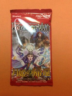 Force Of Will FOW TCG:Moon Preistess Returns. Sealed Booster Pack