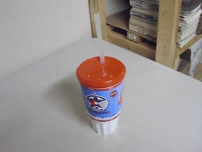Vintage Mcdonalds Coke Plastic Travel Mug Or Cup With Straw
