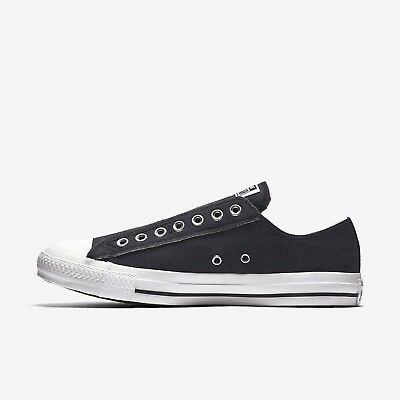 Converse Unisex Chuck Taylor All Star Slip On Ox NEW AUTHENTIC Black 1T366