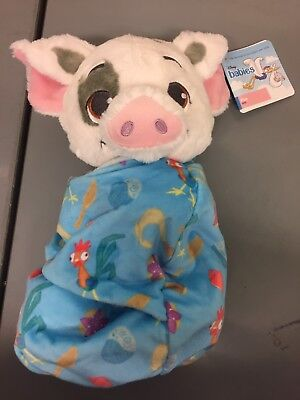 Disney Parks Baby Pua in a Blanket Pouch Plush New with Tags Moana