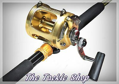 198CM 65Kg 2spd Big Game Combo - All Alloy GTR30 Legion Reel + Ocean Runner Rod