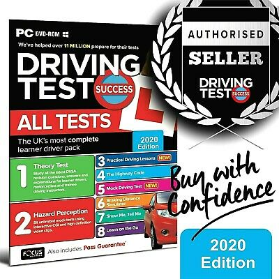 2019 Driving Theory Test and Hazard CD DVD Rom Just Released. Brand New