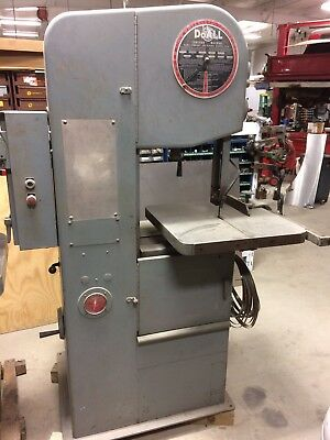 "doall 16"" metal cutting variable speed vertical band saw 1612-0"