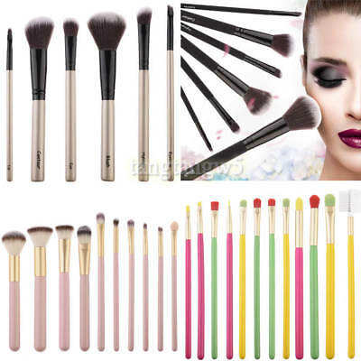 Pro Makeup Brushes Set Foundation Powder Eyeshadow Eyeliner Lip Brush Tool