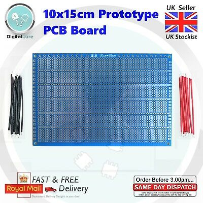 High Quality Single Side Protoboard Prototyping 10x15cm PCB Universal Matrix