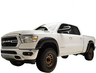 Crack Resistant 2002-2008 Dodge Ram 1500 Pocket Fender Flares Black Paintable