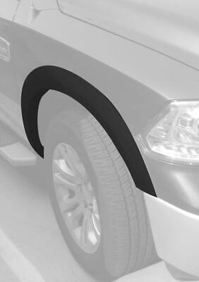 Crack Resistant 2009-2017 Dodge Ram 1500 Pocket Riveted Fender Flares Black