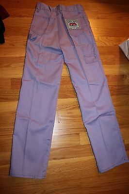 1970s Girls' Purple Lavender Trousers Sam's Jam Strawberries Bayly Sportswear