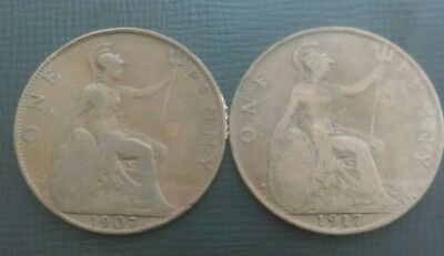 2 X Penny's (1907 & 1917)
