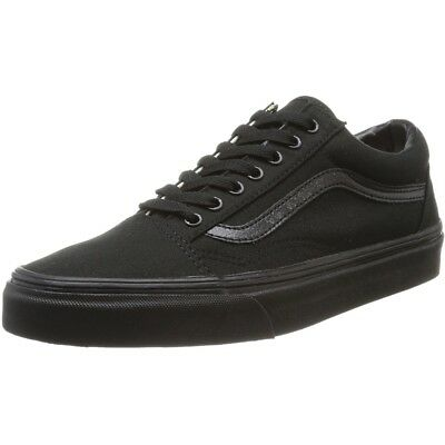 Vans UA Old Skool Black Textile Trainers Shoes