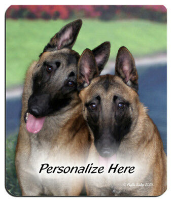 Belgian  Malinois  Personalized  Mouse Pad