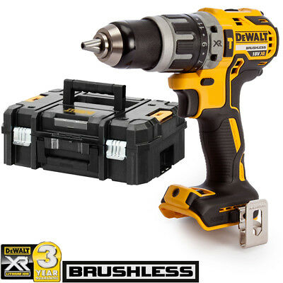 Dewalt DCD796N 18v XR Brushless Compact Combi Drill With T-Stack Case & Inlay