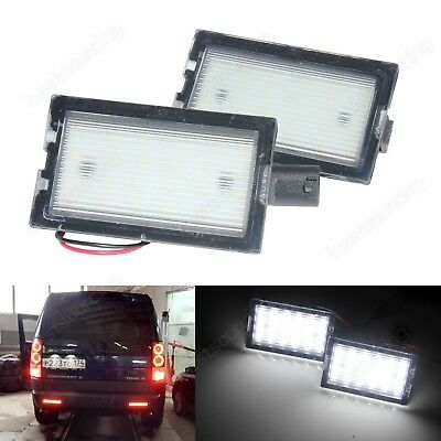 Feux LED De Plaque d'Immatriculation Blanc Land Rover Discovery 4 & Freelander 2