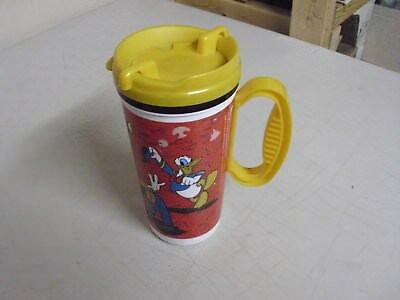 Vintage Walt Disney Coke Plastic Travel Mug Or Cup
