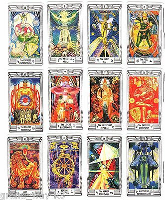 Aleister Crowley Thoth Tarot ENGLISH Fortune New Sealed MINI Size 79 Cards Deck