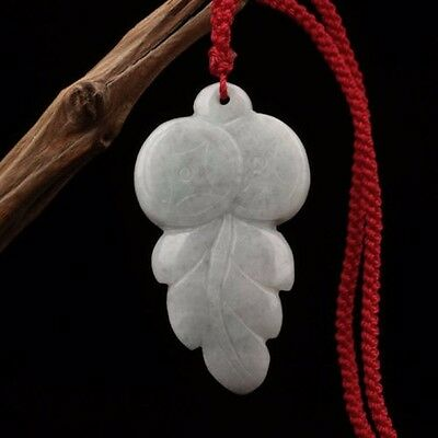 The Chinese natural jade Buddha pendant The leaves & gift added always