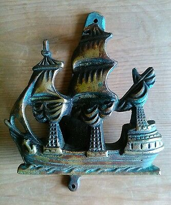 Solid Brass Antique Ship Door Knocker
