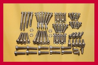 Yamaha Virago XV 1100 /85-98/ Stainless Steel Bolt-kit Screws Cover Motor Engine