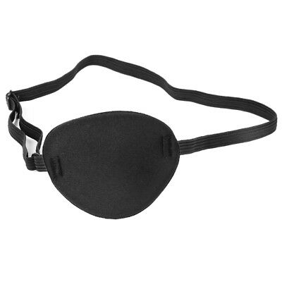 Adult Protective Mask for Amblyopia Disguise Accessories (Black, 40CM) Q9F6