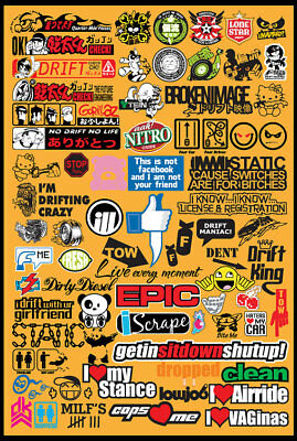JDM Vol 1-10 Vector Clipart for Vinyl Cutters Plotters TShirt Stickers inc BONUS