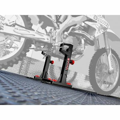 Risk Racing Lock N Load Strapless No Straps Secure Motocross Enduro Bike Holder