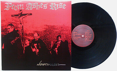 From Ashes Rise ‎- Nightmares LP Tragedy His Hero Is Gone Butcher Poison Idea