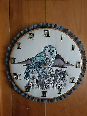 Owl collection lot owl clocks owl figures owl pictures and misc owl things
