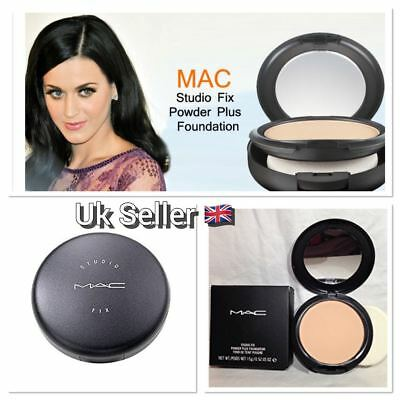 MAC Studio Fix Powder Plus Foundation 15G - NC20, NC35, NC43 + MORE - NEW /BOXED
