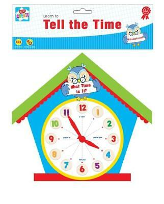 Educational Learn To Tell The Time Clock