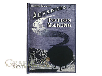 Advanced potion making harry potter inspired personalized hardcover notebook