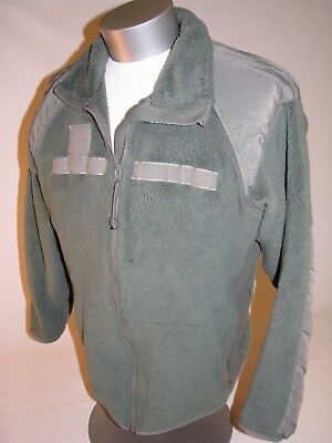 US Military Foliage Green Peckham Polartec Gen III Fleece Top Jacket XL-Long