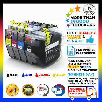 4 LC-3319XL BK/C/M/Y HY Compatible Ink Set for Brother MFC-J5330DW/5730DW/6530DW