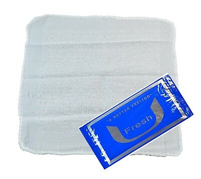 Moist Scented  Salon Facial and Neck wipes.