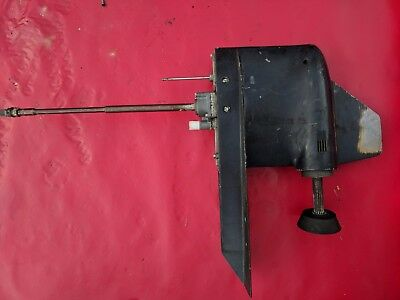 """Force 125 HP Lower Unit Chrysler 1987 20"""" Shaft Clean Oil, Shifts Well 85 HP"""