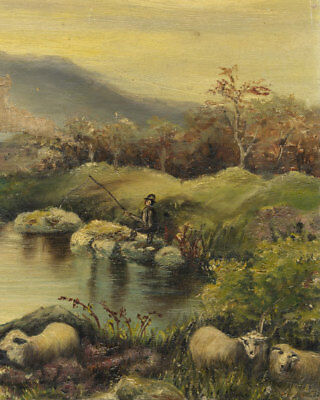 A Pair of Late 19th Century Oil Landscapes for Restoration