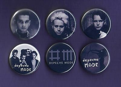 DEPECHE MODE - 31mm Badge Badges Set 1 - Buy 1 Buy the Set you Choose - FREEPOST