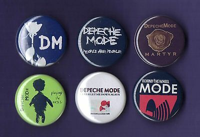 DEPECHE MODE 31mm Badge Badges Set 3 - FREEPOST
