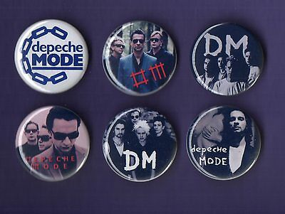 DEPECHE MODE 31mm Badge Badges Set 2 - Buy 1 Buy the Set you Choose - FREEPOST