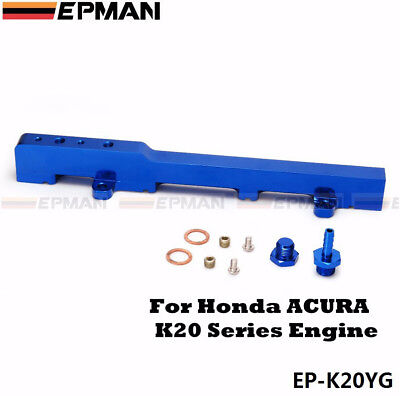 EPMAN Racing High Volume Aluminium Fuel Rail Fit HONDA CIVIC EP3 INTEGRA DC5 K20