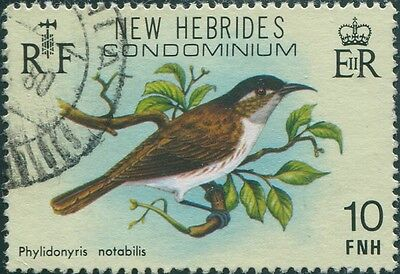 New Hebrides 1980 SG283 10f Bird FU